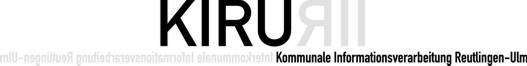 Kommunale Informationsverarbeitung Reutlingen-Ulm (KIRU)