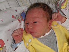 Kevin (m)<br /> *11.04.2014<br /> 3330 g<br /> 53 cm